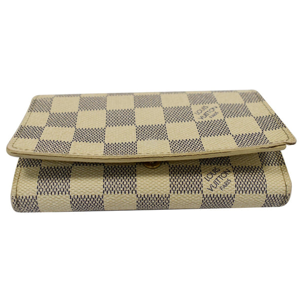 Louis Vuitton Zippy Damier Azur Wallet White - upper side preview