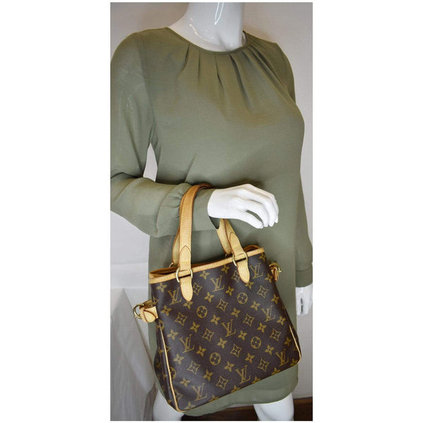 Louis Vuitton Batignolles Vertical Monogram Canvas Bag - elbow handbag