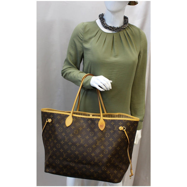 Louis Vuitton Neverfull GM Monogram Canvas Tote Bag for women