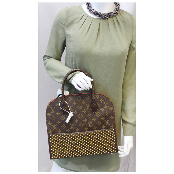 Louis Vuitton Christian Louboutin - Lv Monogram Shopping Bag - shop