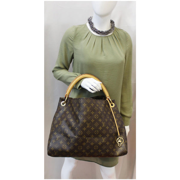 Louis Vuitton Artsy MM Monogram Shoulder Bag for women