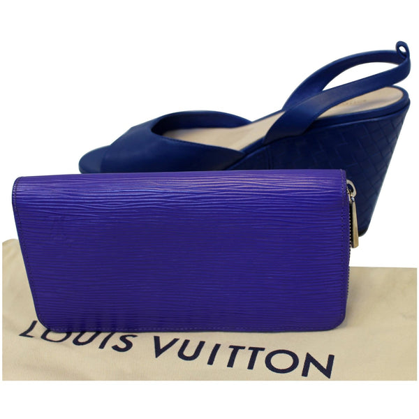 Louis Vuitton Epi Leather Wallet for Women - blue