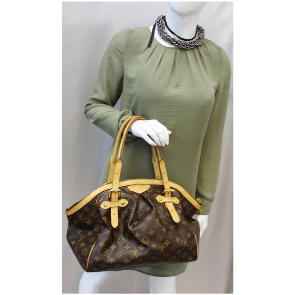 Louis Vuitton Tivoli GM Monogram Canvas Handbag