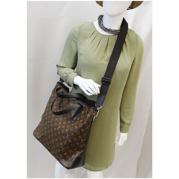 Louis Vuitton Davis Monogram Macassar - Lv Tote Shoulder Bag - shop