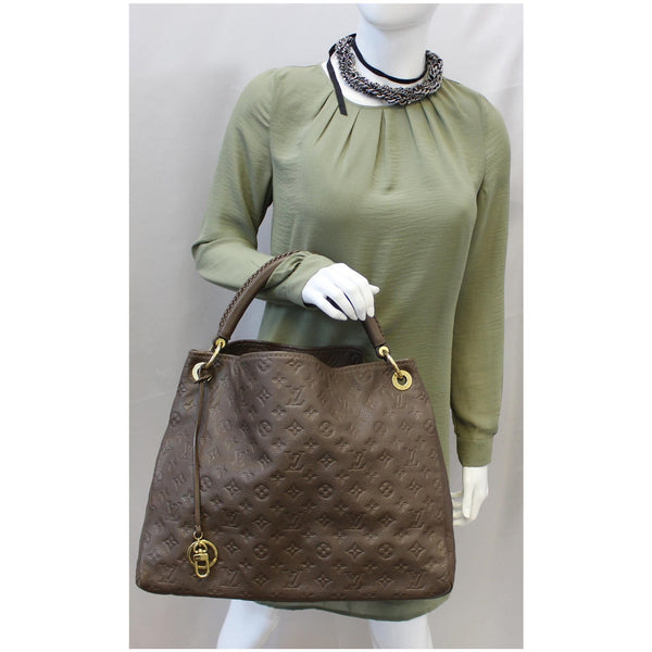Louis Vuitton Artsy MM Empreinte Leather Handbag