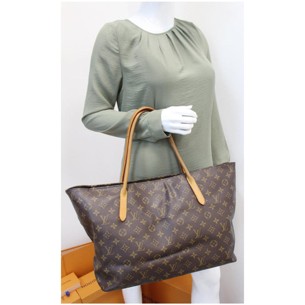 Louis Vuitton Monogram Canvas Raspail MM Handbag