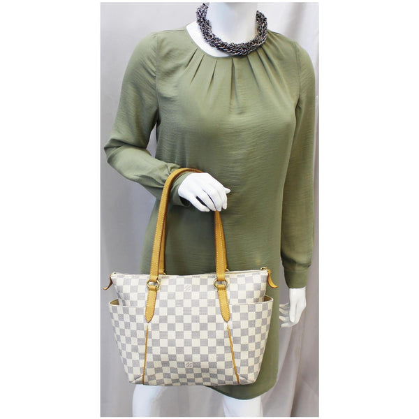 Louis Vuitton Totally PM Damier Azur Tote Hand bag