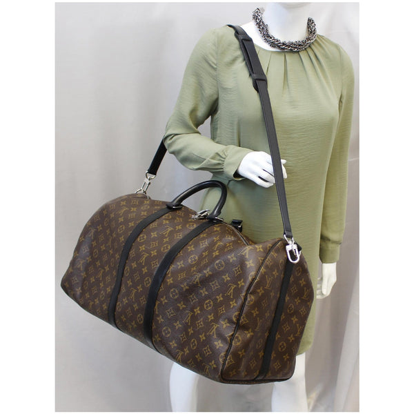 Louis Vuitton Keepall 55 Bandouliere Travel Bag for women