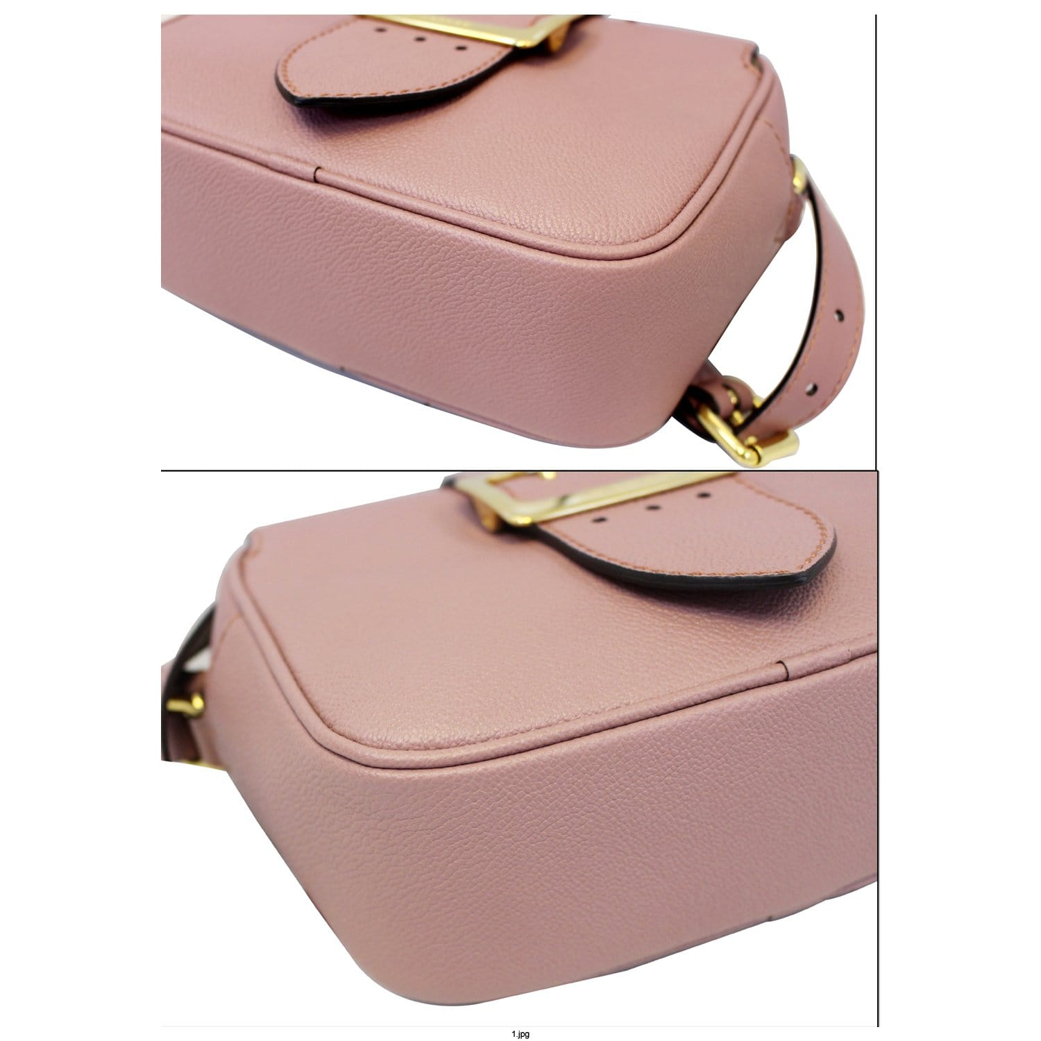 aed9065cb7b7 BURBERRY Medley Small Buckle Crossbody Bag Light Pink-US