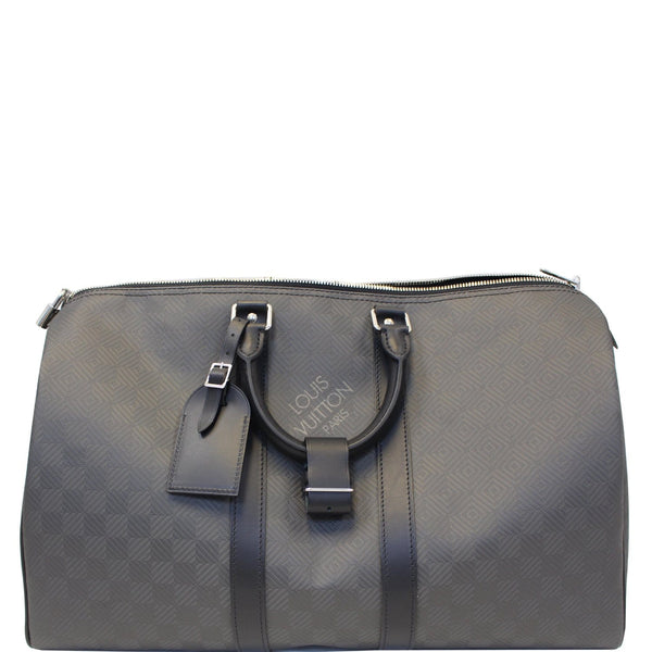 Louis Vuitton Keepall 45 Carbon Fiber Carbone Travel Bag - lv bag