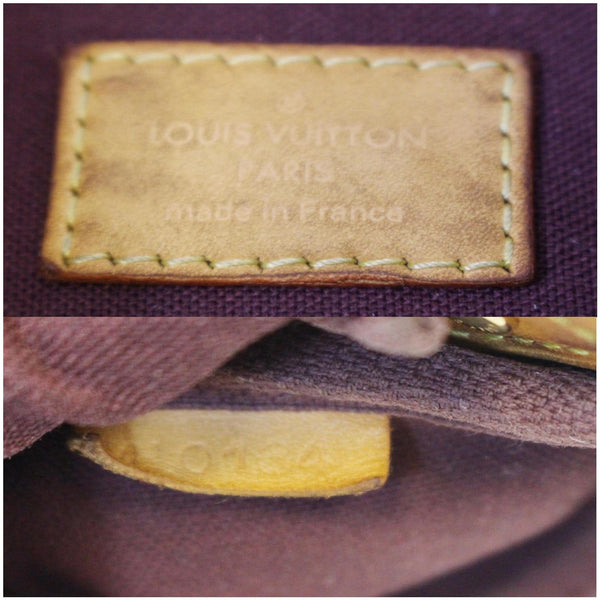 Louis Vuitton Favorite PM Monogram Canvas Bag - lv tag