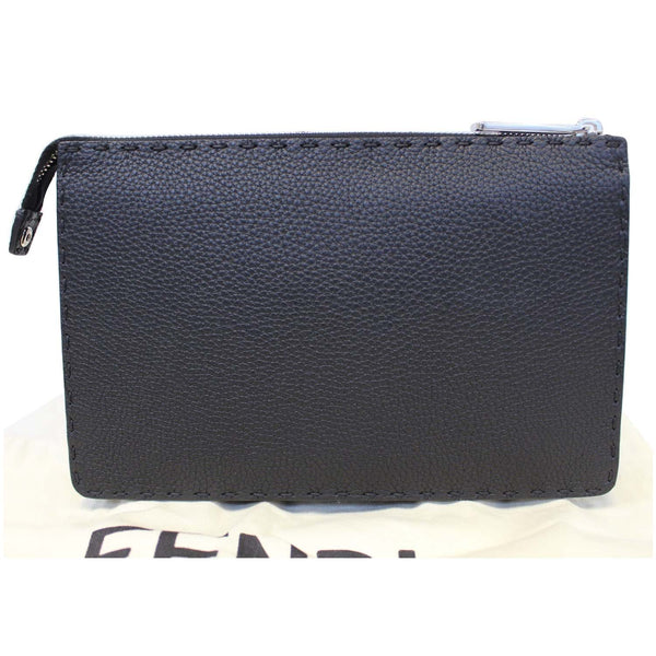 Fendi Selleria Bag Bugs Slim - Fendi Clutch Black