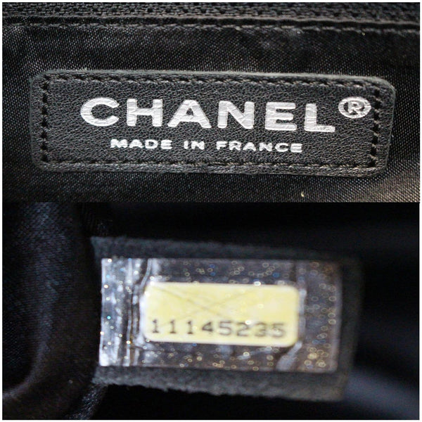 Chanel Calfskin Perforated 50's Bowler Bag - made in France