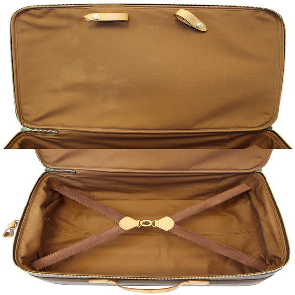 Interior Lv Pegase 55 Monogram Canvas Travel Bag
