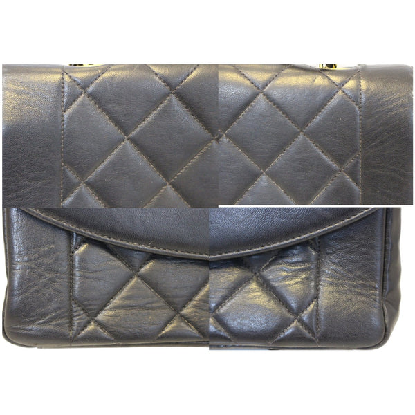 CHANEL Diana Classic Flap Quilted Leather Crossbody Bag-US