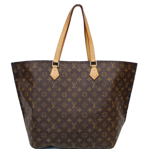 LOUIS VUITTON All-In MM Monogram Canvas Shoulder Bag Brown
