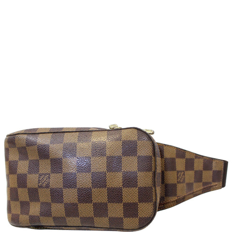 LOUIS VUITTON Damier Ebene Geronimos Brown Hip Bag - 20% OFF