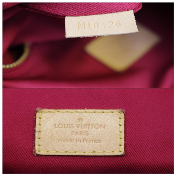 Louis Vuitton Graceful MM - Lv Monogram Shoulder Bag - inside view
