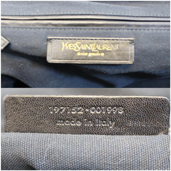 Yves Saint Laurent Majorelle Satchel Bag  - logo