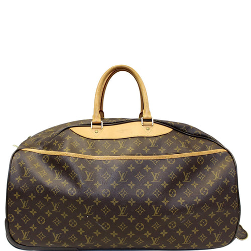 LOUIS VUITTON Eole 50 Monogram Canvas  Rolling Luggage Bag Brown