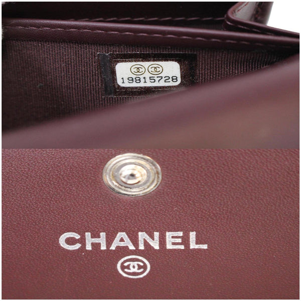 Chanel Timeless CC Large Gusset Flap Caviar Wallet made in Italy