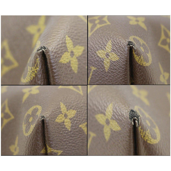 LOUIS VUITTON Iena PM Monogram Canvas Shoulder Bag Brown-US