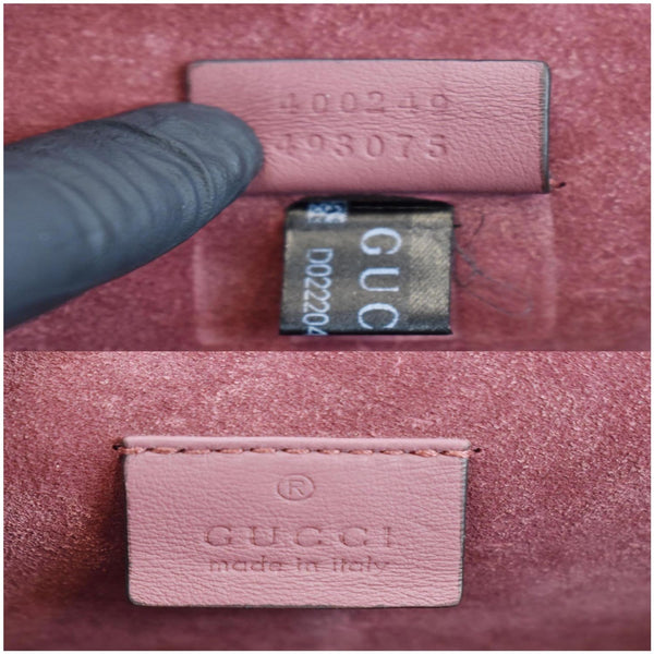 Gucci Dionysus Small GG Blooms Shoulder Bag - serial code