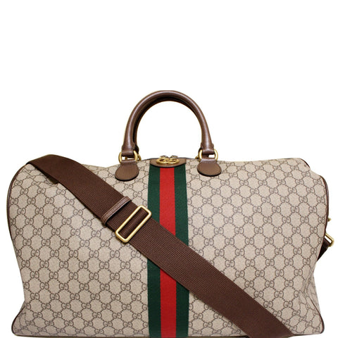Gucci Ophidia GG Large Carry-On Duffle Bag Beige 547959