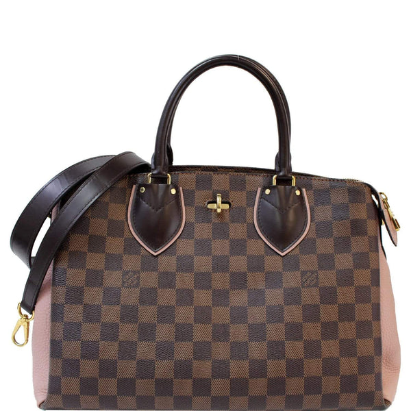 Louis Vuitton Normandy Damier Ebene Leather Shoulder Bag