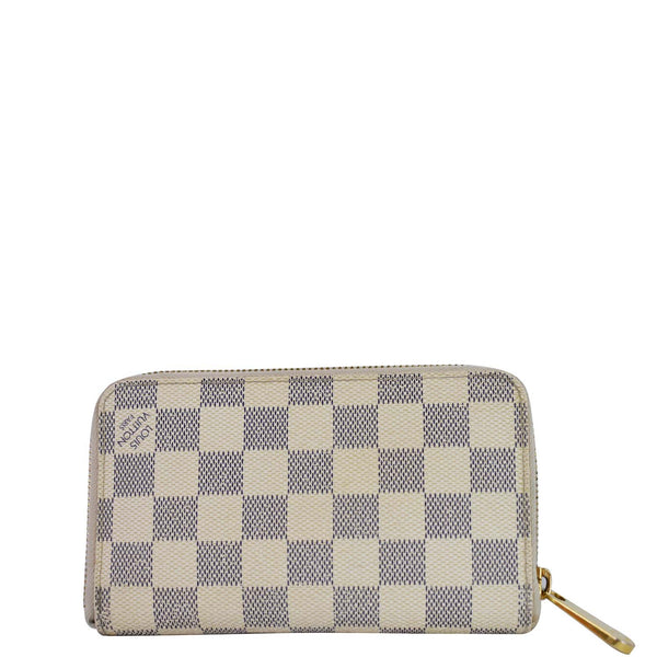 Louis Vuitton Damier Azur Zippy Organizer Wallet White - women bag