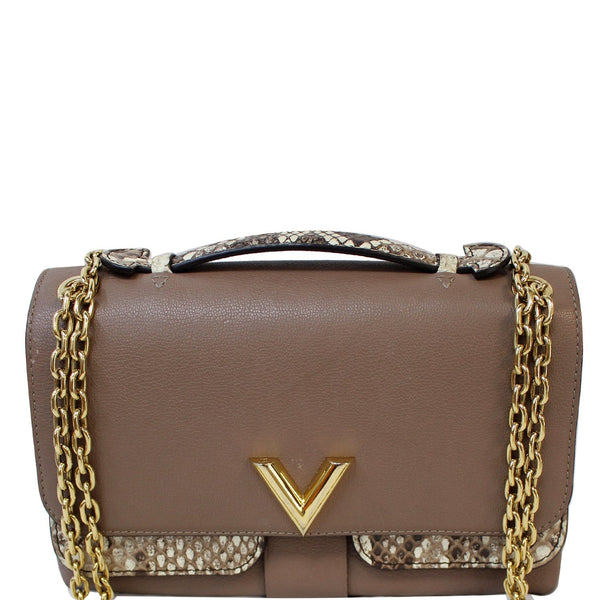 Louis Vuitton Python Very Chain Leather Shoulder Bag