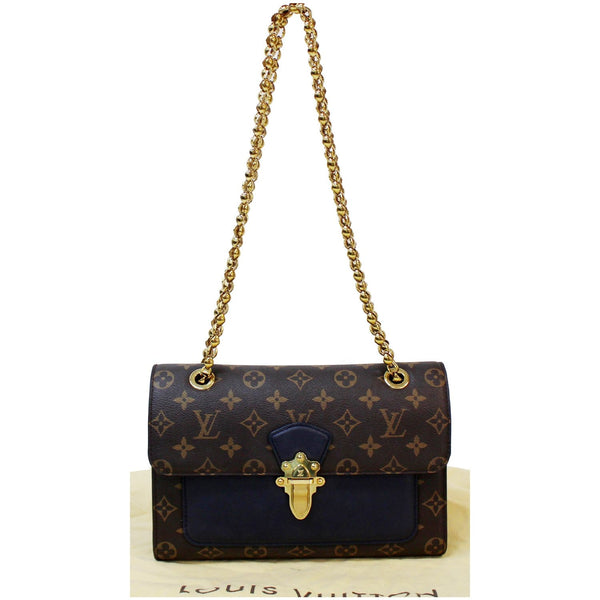 elegant Chain lv Victoire Monogram Canvas Crossbody Bag