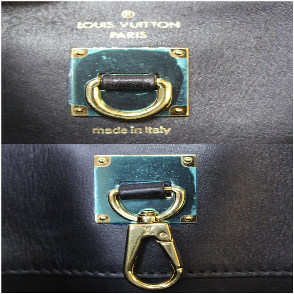 Padlock keys Louis Vuitton City Steamer GM  Leather Bag