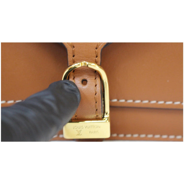 Louis Vuitton Biface Shoulder Bag gold buckle