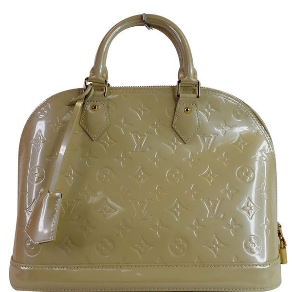 Louis Vuitton Alma PM Monogram Vernis Satchel Bag