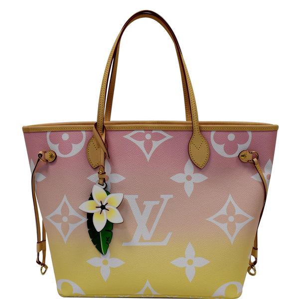 Louis Vuitton Neverfull MM Pool Monogram Giant Tote Bag