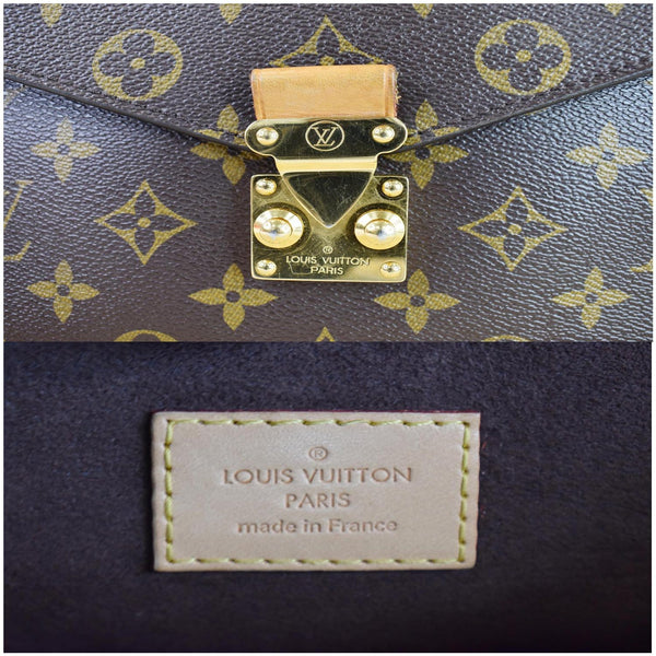 Louis Vuitton Metis Pochette Monogram Canvas Bag Brown - made in France