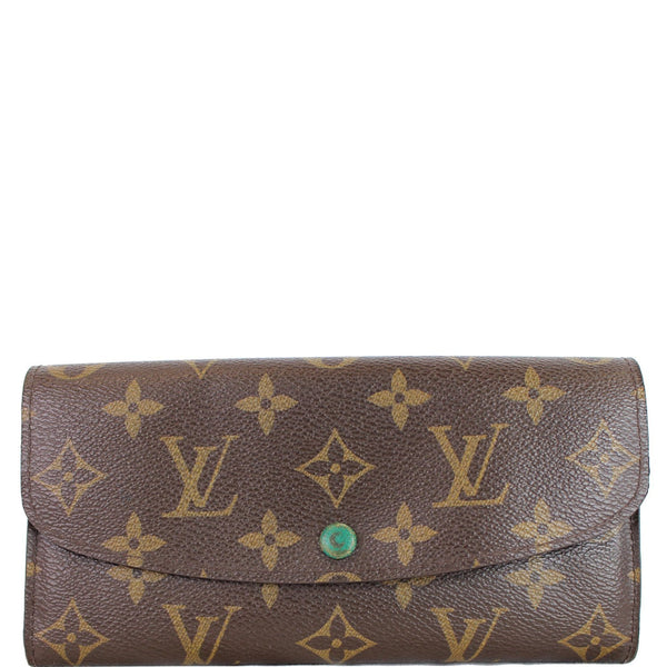 Louis Vuitton Emilie Monogram Canvas Wallet Brown | Shop Now