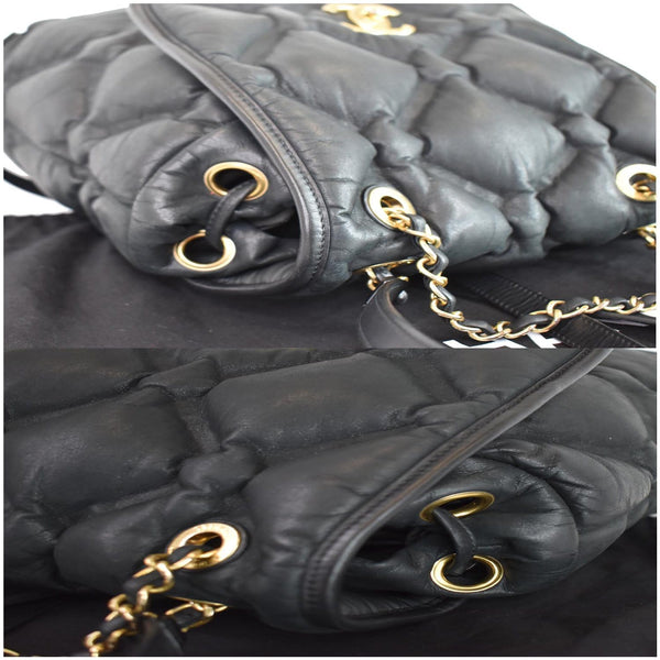Chanel Chesterfield Quilted Calfskin Leather Backpack