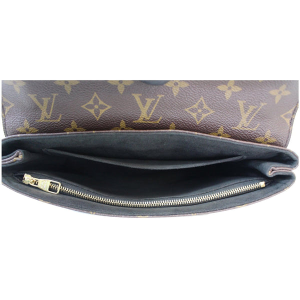 Louis Vuitton Saint Placide Monogram Canvas Bag Women - opened view