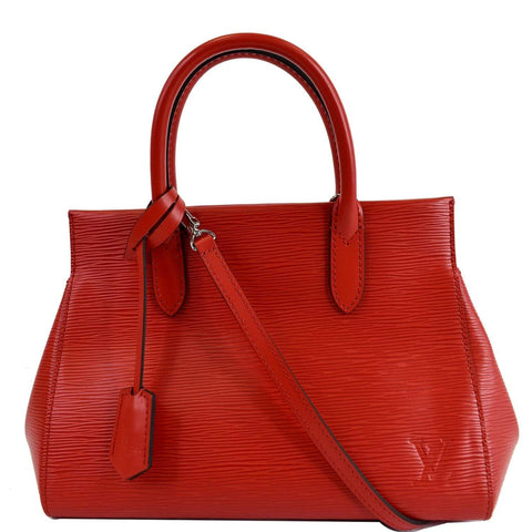 LOUIS VUITTON Marly BB Epi Leather Shoulder Bag Coquelicot
