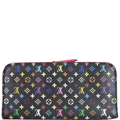 LOUIS VUITTON Portefeuille Insolite Multicolor Monogram Wallet Black