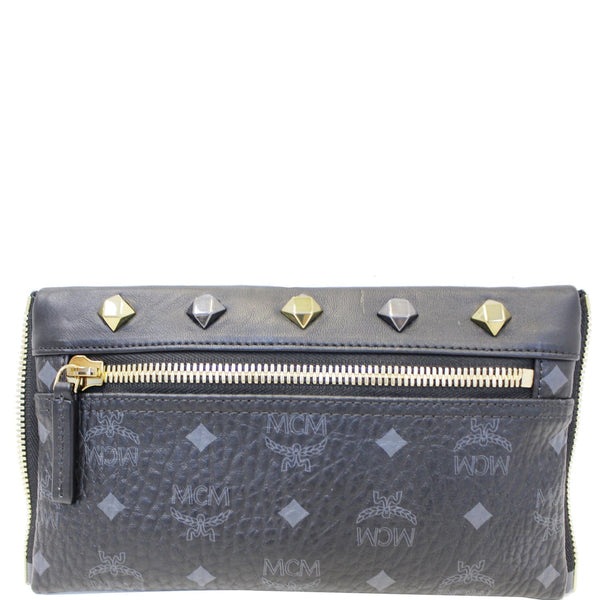 MCM Visetos Crossbody Bag Black-US