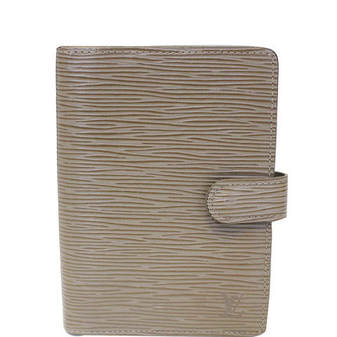LOUIS VUITTON Agenda PM Epi Leather Day Planner Cover Taupe - 20% OFF