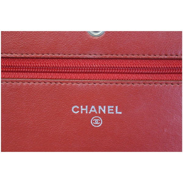 CHANEL Wallet on Chain Quilted Leather Shoulder Crossbody Bag-US