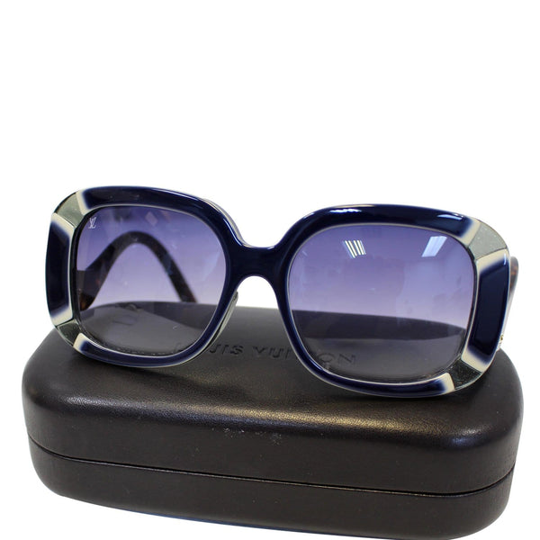 LOUIS VUITTON Anemone Navy Sunglasses - Lv Sunglasses women