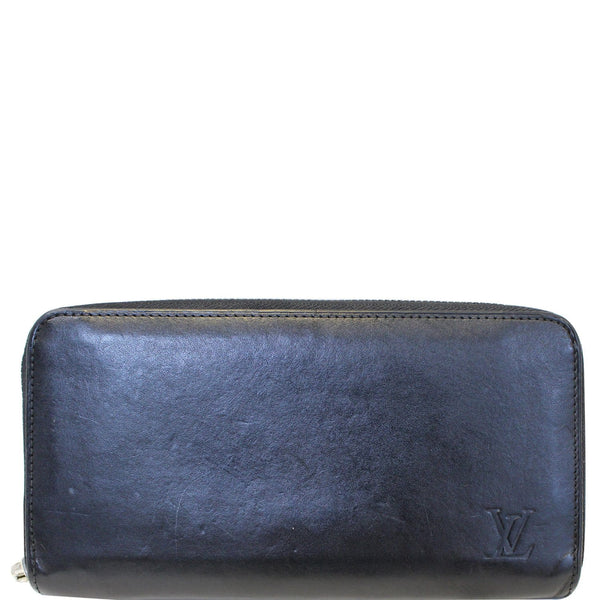 Louis Vuitton Black Leather Wallet Women