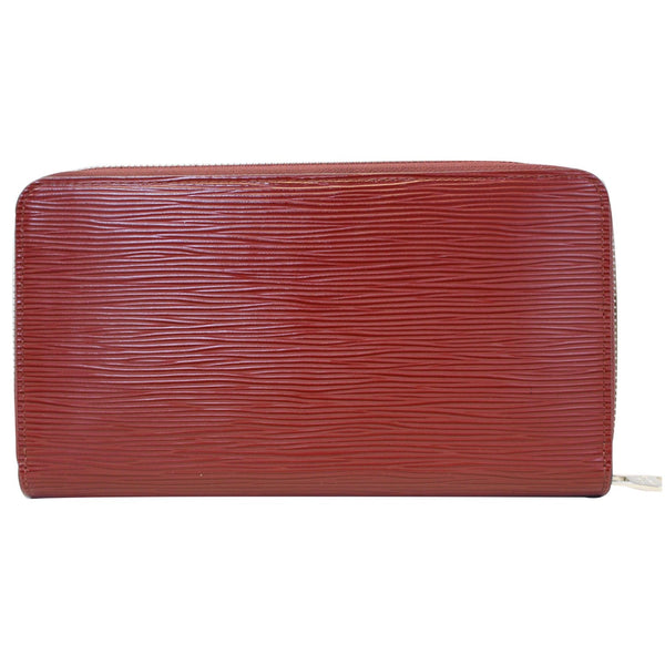 Louis Vuitton Zippy Wallet Organizer Epi Leather Red - plain wallet