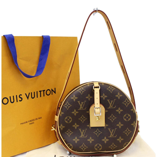 LOUIS VUITTON Boite Chapeau Souple Monogram Canvas Shoulder Bag-US