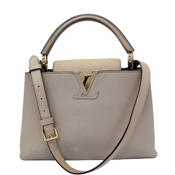 Louis Vuitton Capucines PM Taurillon Leather Shoulder Bag